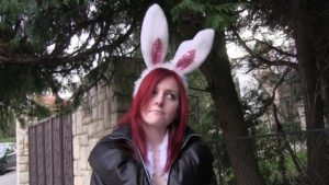 Hot-Easter-Bunny-Fucked-Outside